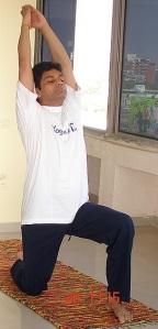 Divan (Divyang) Dave performing Yoga ISM OmniMD