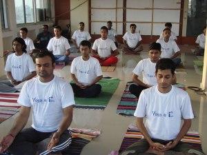 ISM Team Yoga Class